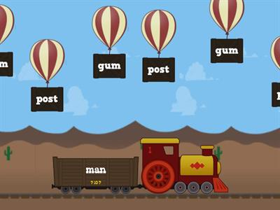4.8  Make Compound  Words Train game