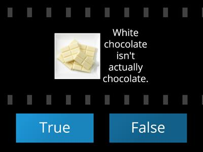 Food Facts True or False