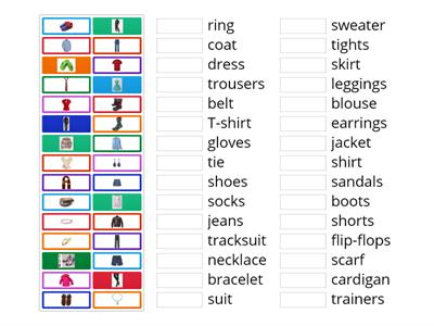 1C Clothes&Accessories EnglishFile Pre-Int