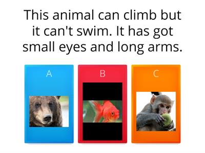 Animals/CAN/HAVE GOT