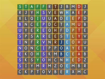Job Word Search