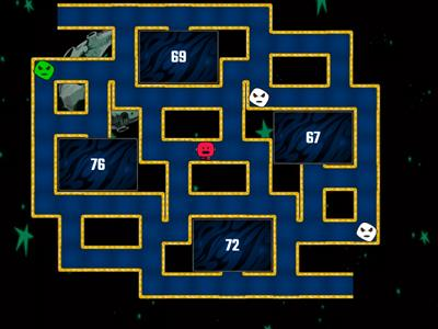 Times tables x8 Maze