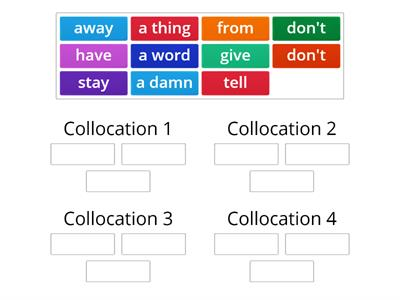 Collocations from Harry Potter