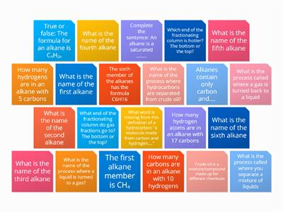 C1 4.1 - 4.2 revision tile quiz