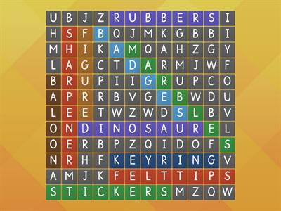 Wordsearch At The Shop (Game)