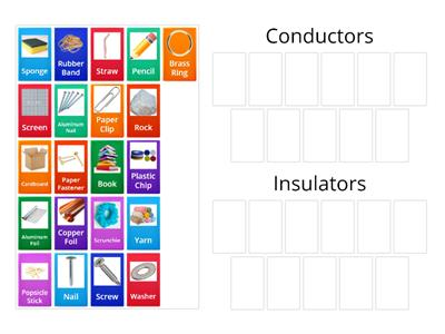 Conductors or Insulators?