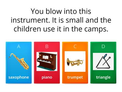 SM 4 musical instruments
