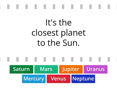 What do you know about planets?