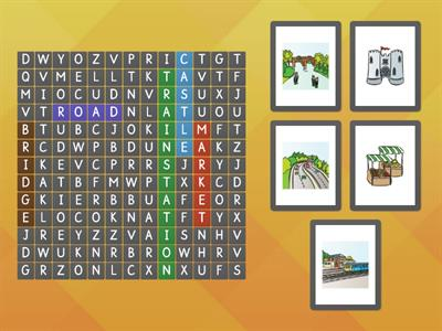 Fly High 4. L 13 wordsearch