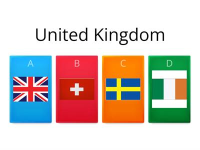 European Countries and Flags- Quiz