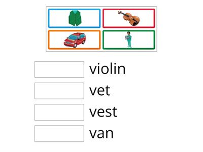 Oxford Phonics Letter Vv