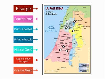 Cartina Muta Della Palestina.Religione Geografia Della Palestina Risorse Per L Insegnamento