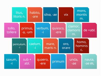 OLC Latin Vocabulary Box 10