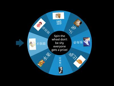 Copy of Spin the wheel!
