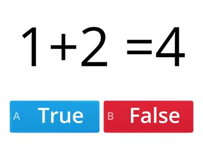 True or False edited