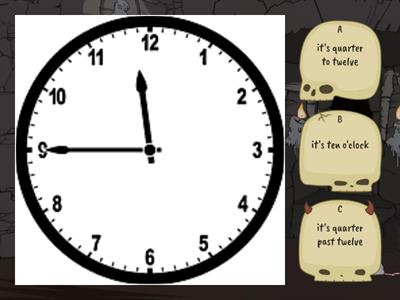 Telling the time - quiz
