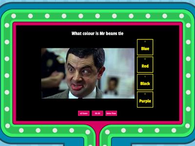 Mr Bean quiz