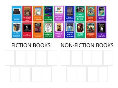 Fiction /  Non-fiction books (classification)