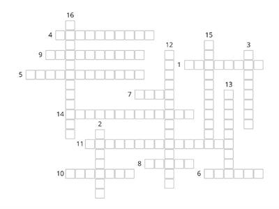 Chapter 10 definitions crossword