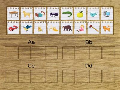 Oxford Phonics World - letters A,B,C,D
