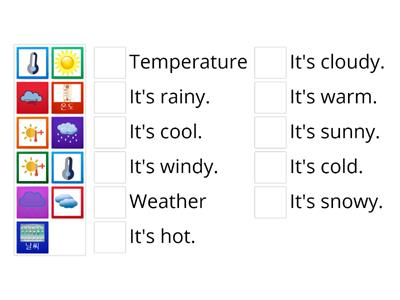 G1: Lesson 5.1 Weather