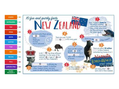 10 fun and quirky facts about New Zealand