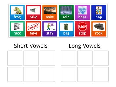 Long Vowel-Short Vowel