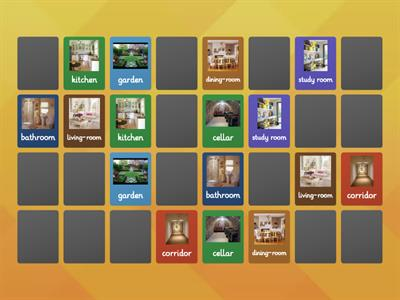 Memory game - Houses PBT