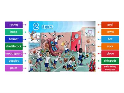 Sports equipment - a picture