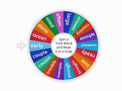 Trick Words Level 2 Units