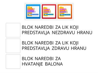 Djeca će se pomoću ove igre upoznati sa svojim prvim engleskim riječima.