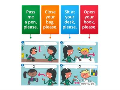 Super Minds 1 classrom actions