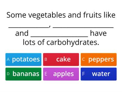 Carbohydrates review