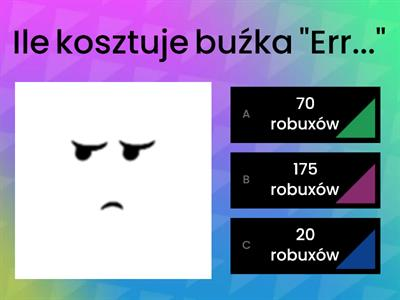 Quiz Roblox