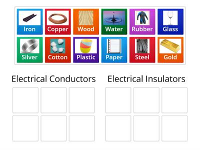 Copy of Sorting Conductors and Insulators