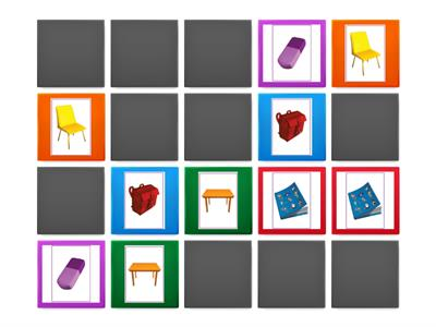 Super Minds Starter unit 1 - School objects