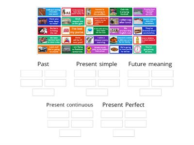 Past, present and future tense sorting L1