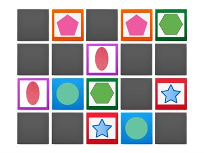 Memory game (Shapes)