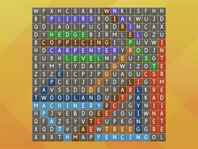 Wordsearch Estate Skills