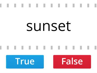 3.1 True of False? Is it a compound word?
