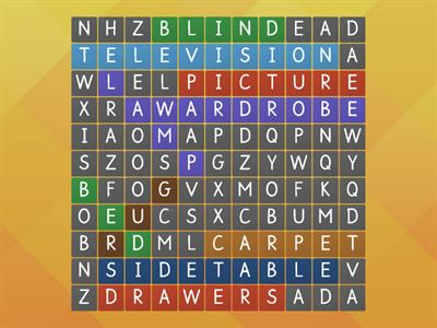 Wordsearch Furniture