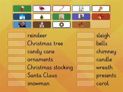 Kids vocabulary - Christmas