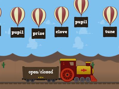 Closed, Open, VCe Syllable Practice (with multi-syllable words)
