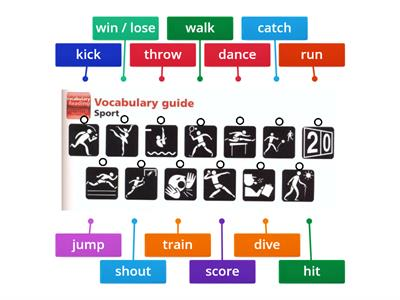 Motivate 1 - Unit 6 - Vocabulary 1 - Sport Verbs