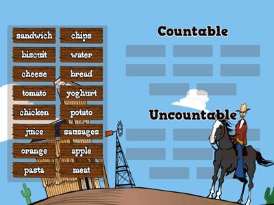 2.2 Countable and uncountable nouns