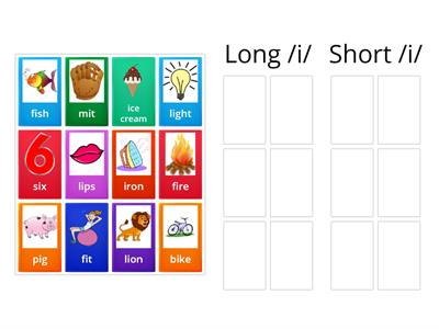 Long and Short vowel sound /i/