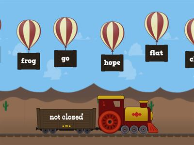 Closed Syllable Balloon Pop