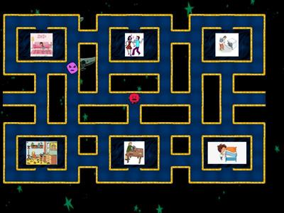 Household jobs Klasa 5 Maze