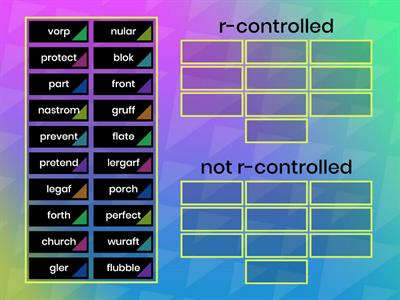 r-Controlled Syllables