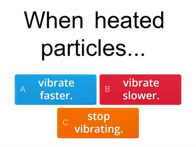 Particles quiz Year 4